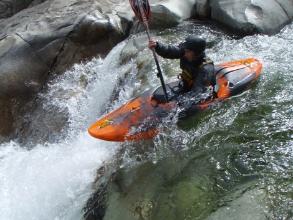 WSV Mitglied beim Kanu Wildwasser