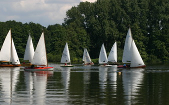 Segeln am De Wittsee
